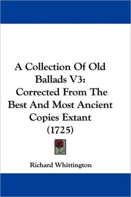 A Collection Of Old Ballads V3