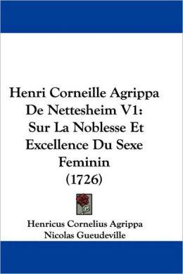 Henri Corneille Agrippa De Nettesheim V1