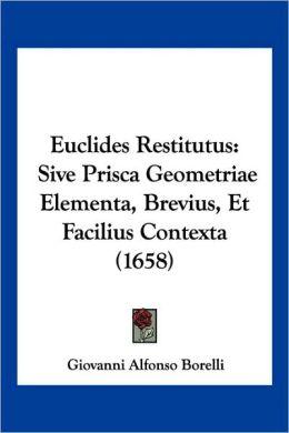 Euclides Restitutus