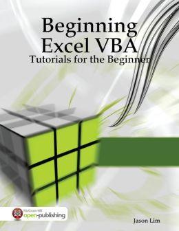 Beginning Excel VBA Tutorials - Tutorials for the Beginner