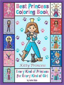 Best Princess Coloring Book