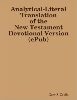 Analytical-Literal Translation of the New Testament Devotional Version (ePub)