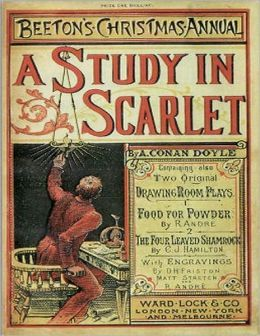 A Study In Scarlet.