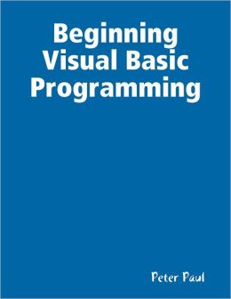 Beginning Visual Basic Programming