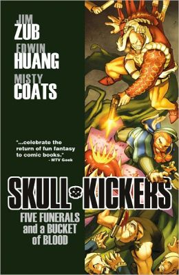 Skullkickers, Volume 2: Five Funerals and a Bucket of Blood (NOOK Comics with Zoom View)