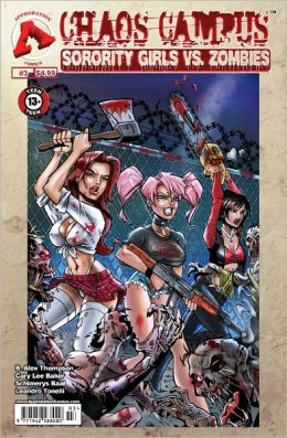 Chaos Campus: Sorority Girls vs. Zombies #3 (NOOK Comics with Zoom View)