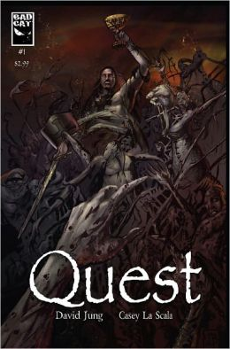 Quest #1 Cover A (NOOK Comics with Zoom View)