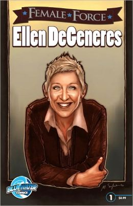 Female Force: Ellen DeGeneres (NOOK Comics with Zoom View)