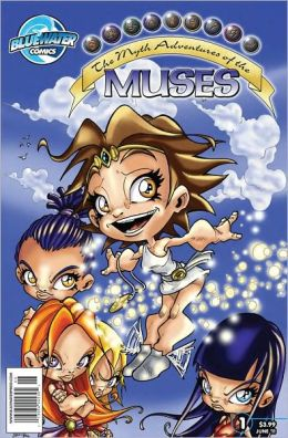 The Myth Adventures of the Muses #1 (NOOK Comics with Zoom View)