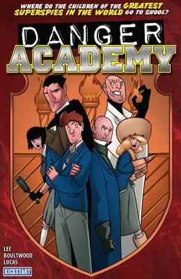 Danger Academy (NOOK Comics with Zoom View)