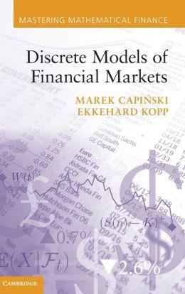 Discrete Models of Financial Markets