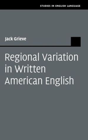 Regional Variation in Written American English