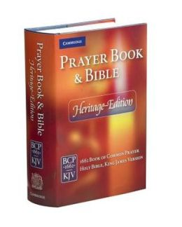 Heritage Edition Bible and Prayer Book Blue Hardcover CPKJ421