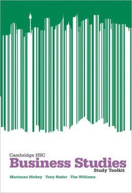Cambridge HSC Business Studies 2ed Toolkit