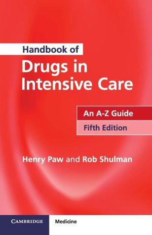 Handbook of Drugs in Intensive Care, 5th Edition