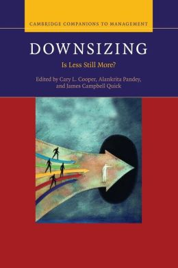 Downsizing: Is Less Still More?