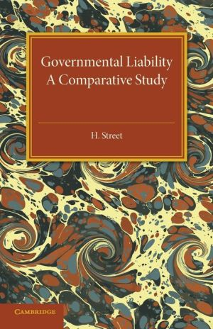 Governmental Liability: A Comparative Study