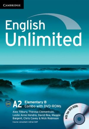English Unlimited Elementary B Combo with DVD-ROMs (2)