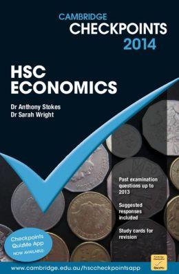 Cambridge Checkpoints HSC Economics