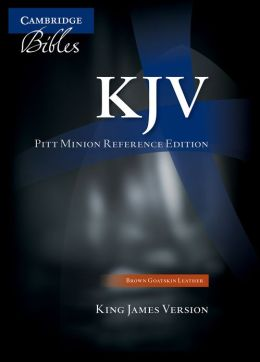 KJV Pitt Minion Reference Brown Calf Split KJ444:XR