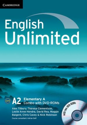 English Unlimited Elementary A Combo with DVD-ROMs (2)