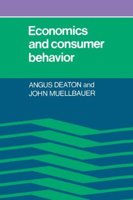 Economics and Consumer Behavior