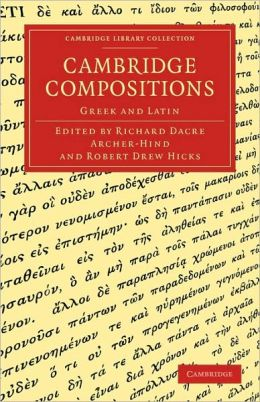 Cambridge Compositions: Greek and Latin