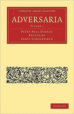 Adversaria (2 Volume Paperback Set)