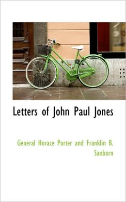Letters Of John Paul Jones