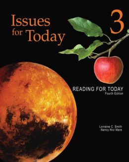 Reading for Today 3: Issues for Today