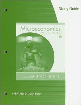 Study Guide for McEachern's Microeconomics