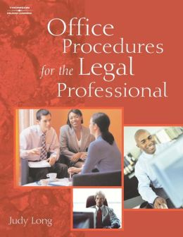 Office Procedures for the Legal Professional (Book Only)