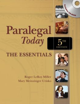 Paralegal Today: The Essentials (Book Only)