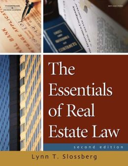 The Essentials of Real Estate Law for Paralegals (Book Only)