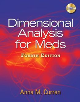 Dimensional Analysis for Meds (Book Only)