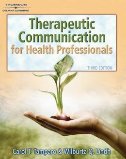 Therapeutic Communications for Health Care (Book Only)