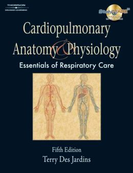 Cardiopulmonary Anatomy & Physiology (Book Only)