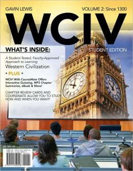 WCIV, Volume II (with Review Cards and History CourseMate with eBook, Wadsworth Western Civilization Resource Center 2-Semester Printed Access Card)