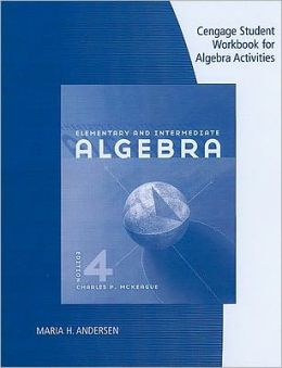 Student Workbook for McKeague's Elementary and Intermediate Algebra