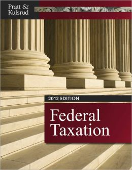 Federal Taxation 2012 (with H&R BLOCK At Home Tax Preparation Software CD-ROM, CPAexcel 2012 Printed Access Card)