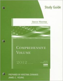 Study Guide for Hoffman/Maloney/Raabe/Young's South-Western Federal Taxation 2012: Comprehensive, 35th
