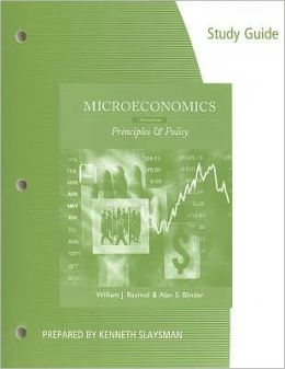 Study Guide for Baumol/Blinder's Microeconomics, 12th