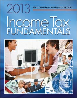 Income Tax Fundamentals 2013 (with H&R BLOCK At Home Tax Preparation Software CD-ROM)