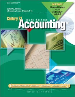 Century 21 Accounting: General Journal, Introductory Course, Chapters 1-16, 2012 Update