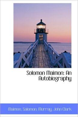 Solomon Maimon
