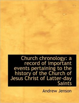 Church Chronology