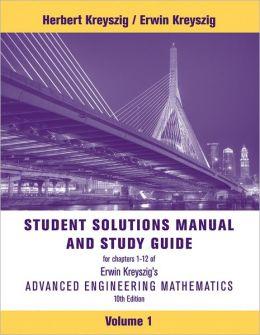 Advanced Engineering Mathematics, Student Solutions Manual