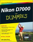 Book Cover Image. Title: Nikon D7000 For Dummies, Author: Julie Adair King