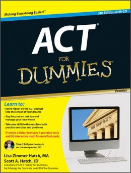 ACT For Dummies, with CD