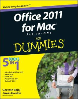 Office 2011 for Mac All-in-One For Dummies